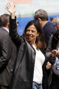 Fue presidenta de la Roma de 2008 a 2011 Foto:Getty Images