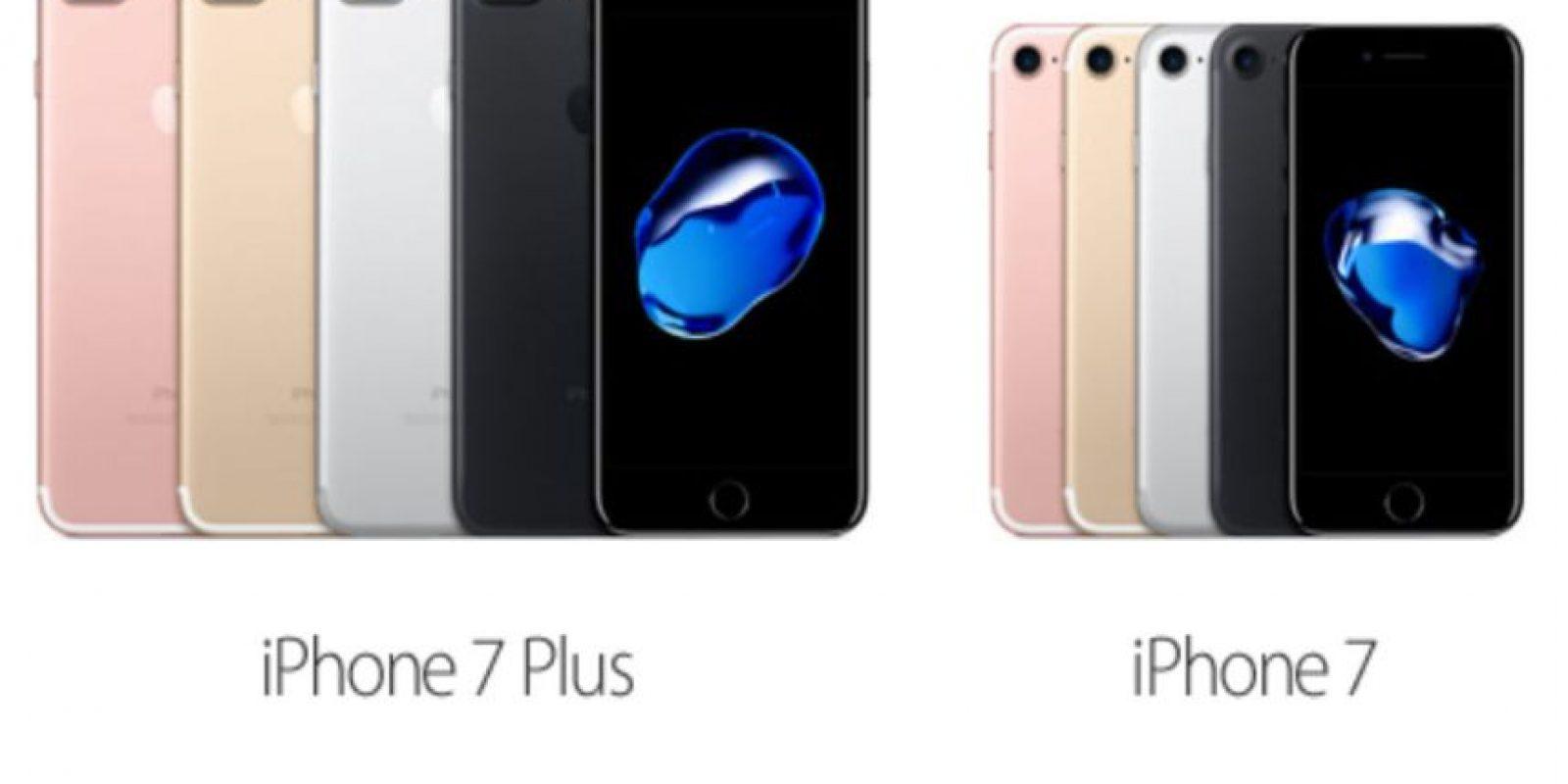 iPhone 7 y 7 Plus Foto:Apple