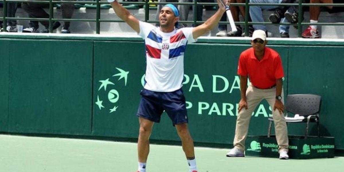 Dominicana define equipo para la Copa Davis