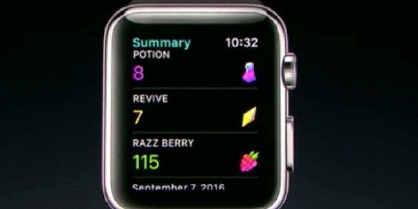 Y los elementos que tienen. Foto:Apple