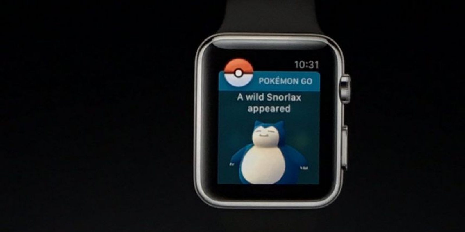 Les anunciará cuando haya nuevos pokémones Foto:Apple