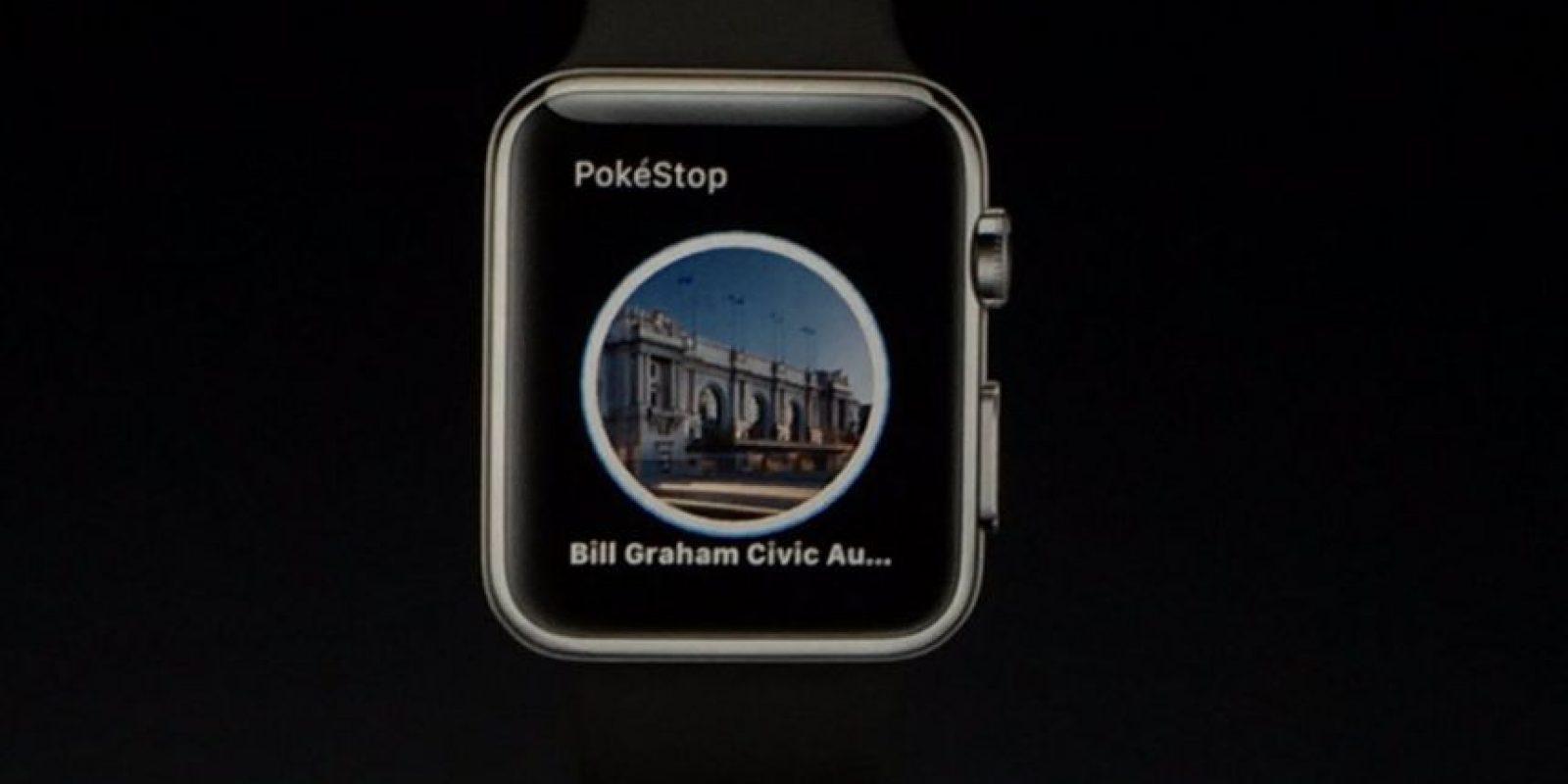 Les mostrará información de las Poképaradas Foto:Apple