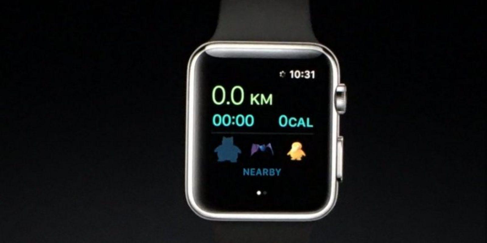 También tendrá un contador de calorías Foto:Apple