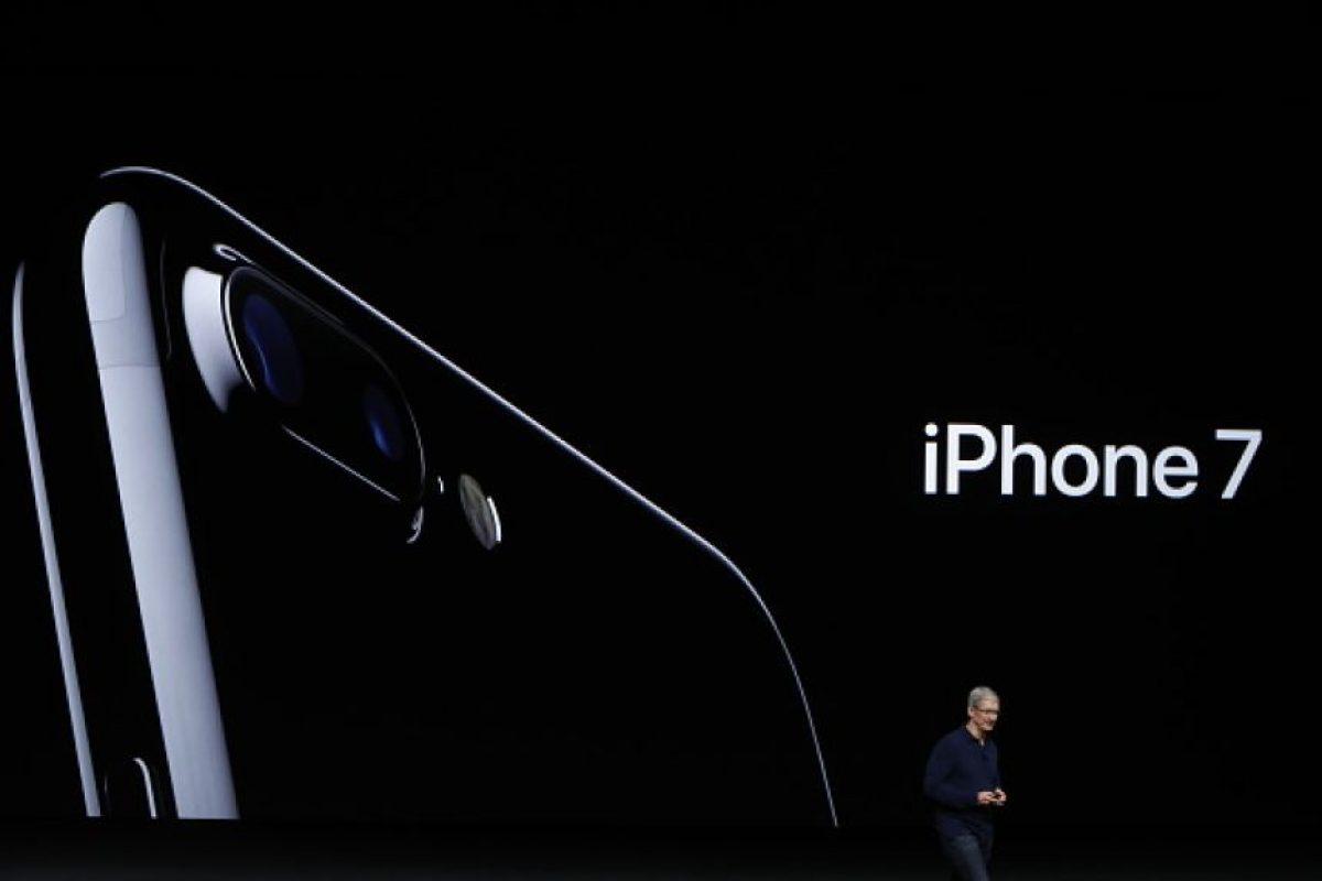El iPhone 7 Plus tiene dos lentes Foto:Getty Images