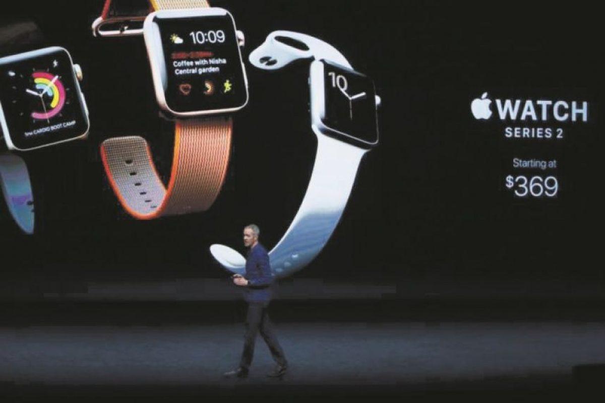 El Apple Watch quiere convertirse en el reloj de los deportistas. Foto:efe