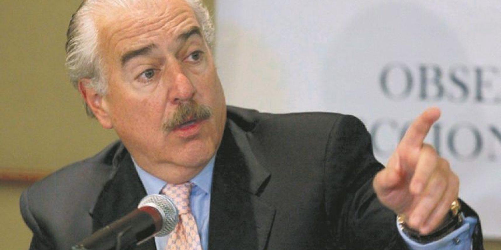 Andrés Pastrana expuso las quejas ante el Consejo Permanente de la OEA. Foto:Fuente externa