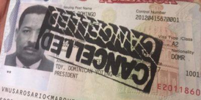 Estados Unidos cancela visas a Roberto Rosario