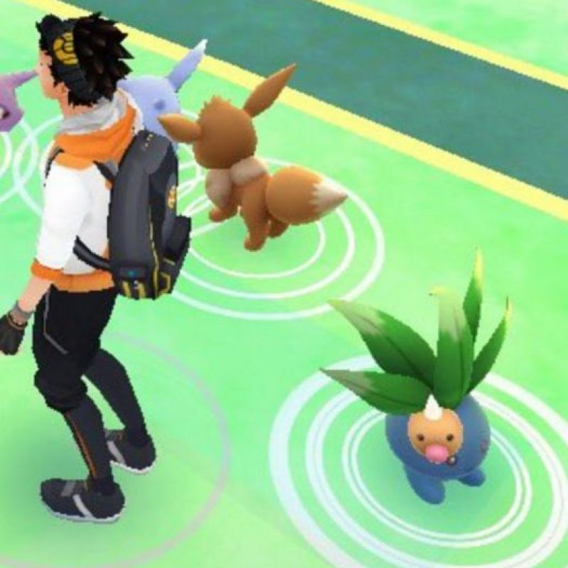 Niantic/Nintendo Foto: Weedle parece indefenso