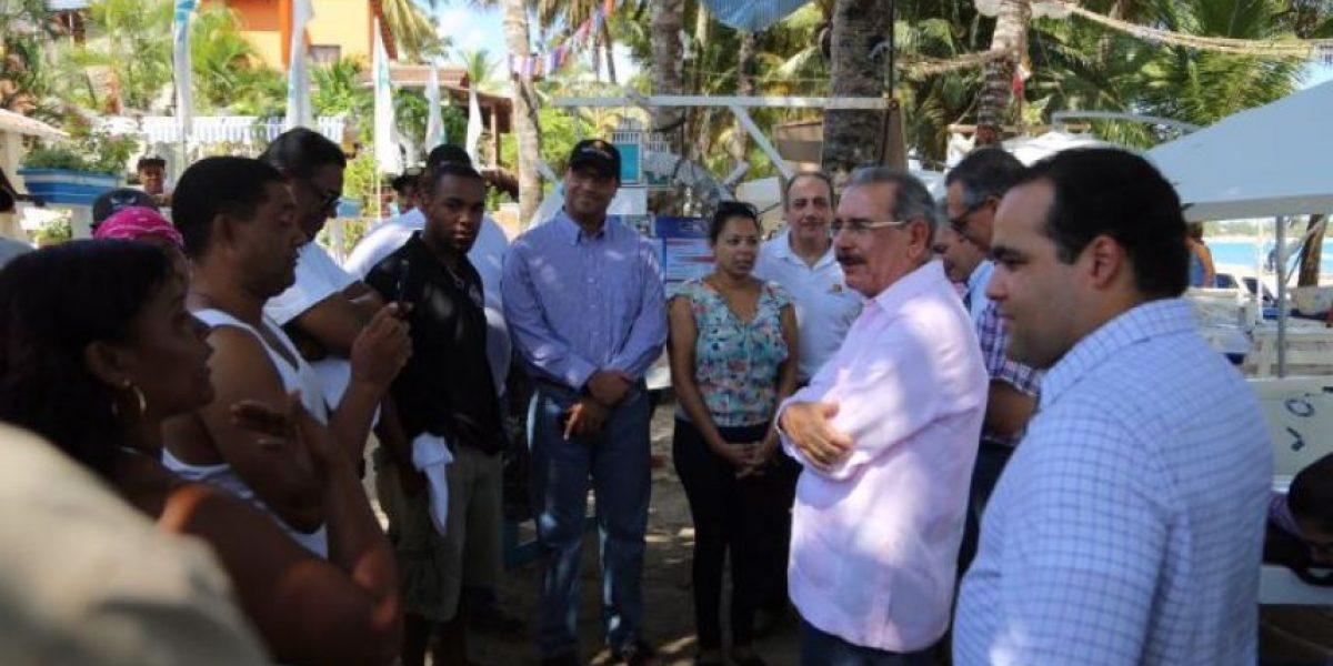 Danilo Medina realiza visita sorpresa a Cabarete y Sosúa