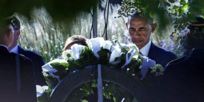 Obama lideró homenajes de ayer en EE.UU.