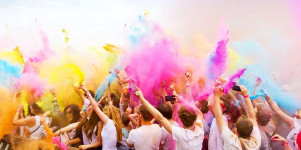¡A celebrar en colores! con  Holi Sun Festival