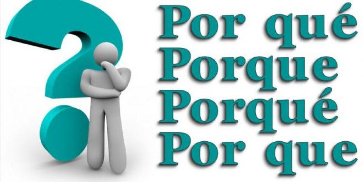 Fundéu Guzmán Ariza explica diferencias del por qué, porqué, por que y porque