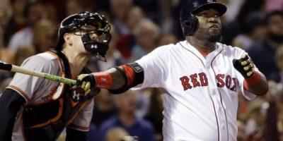 Ortiz pega HR 536 y empata con Mickey Mantle