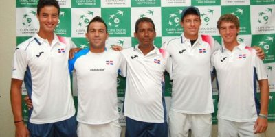 Tenistas RD en gran momento para Copa Davis