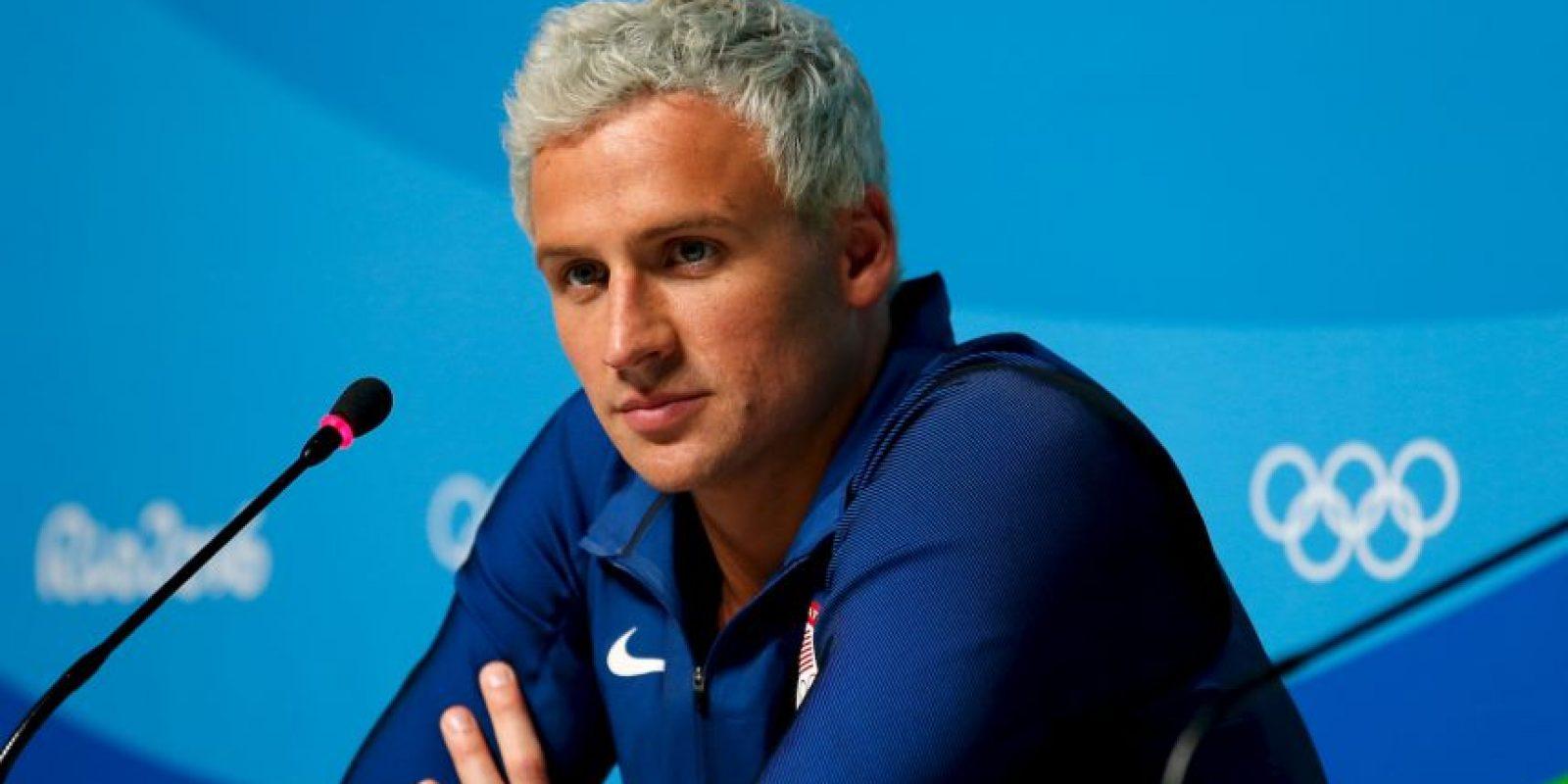 Getty Images Foto:El nadador causó polémica en los Juegos Olímpicos de Río 2016