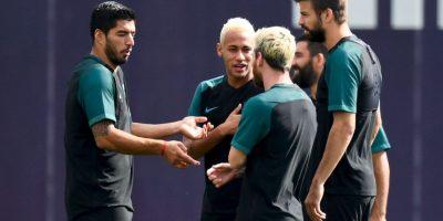 Getty Images Foto:Barcelona debuta en la Champions League