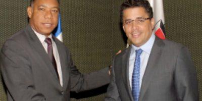 Alcaldía de SD y Edesur sostienen reunión de acercamiento
