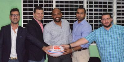 Deporte olímpico presentan la Federación Dominicana de Rugby