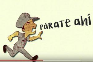 Un video de PC delata que la PN carece de equipos para perseguir el crimen. Foto:Fuente externa