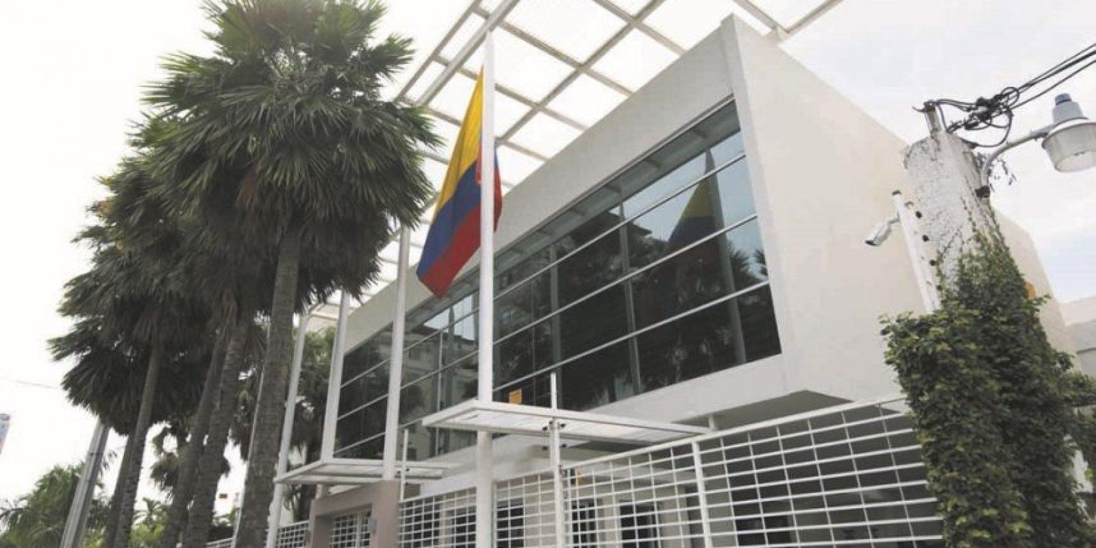 En la Embajada de Colombia habrá cuatro mesas para el sufragio desde las 8:00 de la mañana hasta las 4:00 de la tarde. Foto:Roberto Guzmán