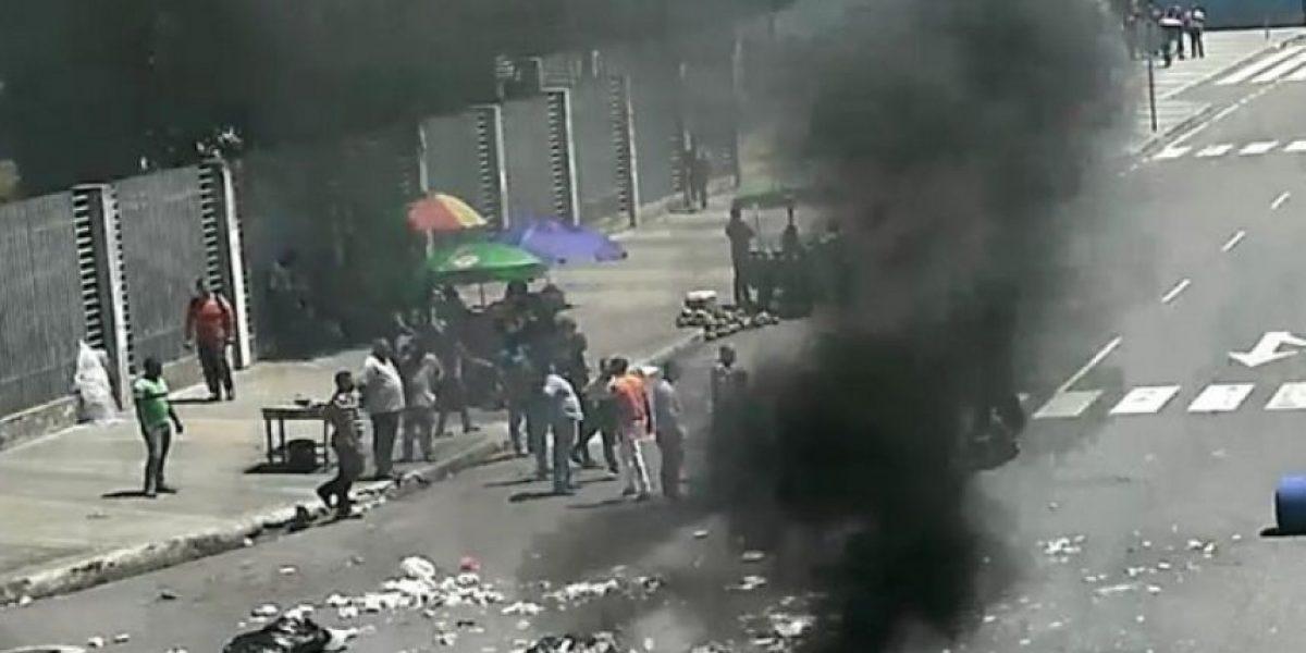 Protestas nuevamente obligan a suspender la  docencia en la UASD