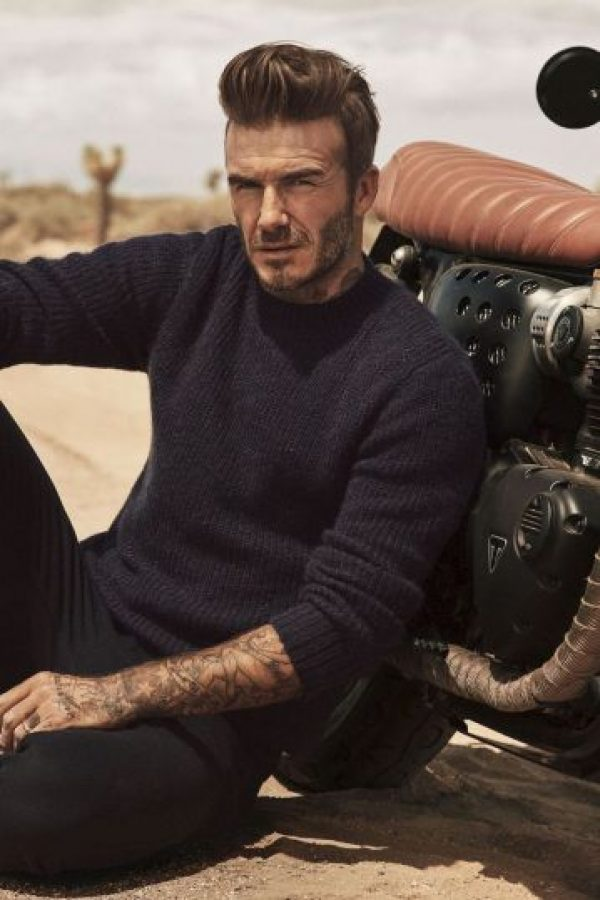 David Beckham seleccionó las prendas de la nueva colección Foto:H&M