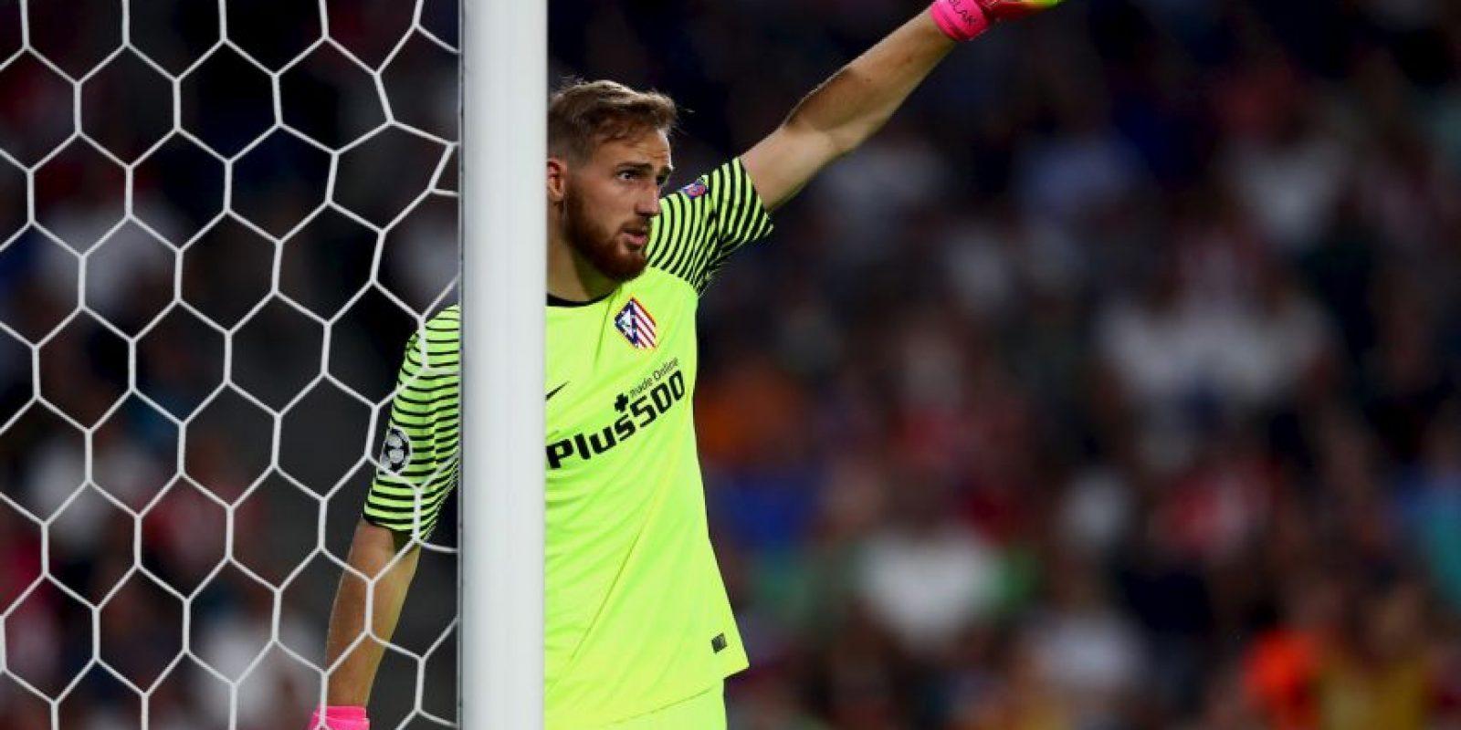 El arquero fue fundamental para que Atlético de Madrid gane por 1 a 0 ante PSV Foto:Getty Images