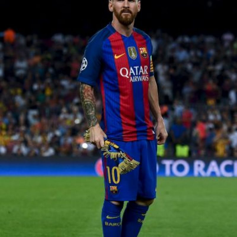 """En junio pasado, """"Leo"""" y su padre fueron acusado de fraude al fisco español Foto:Getty Images"""