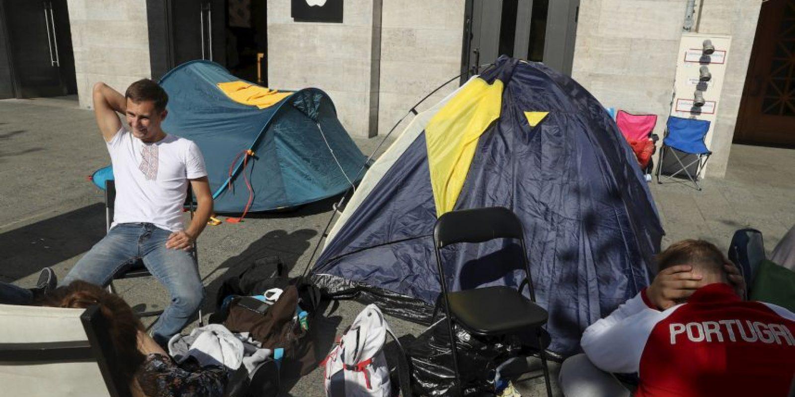 Getty Images Foto:En Alemania, se reportan filas desde hace dos días
