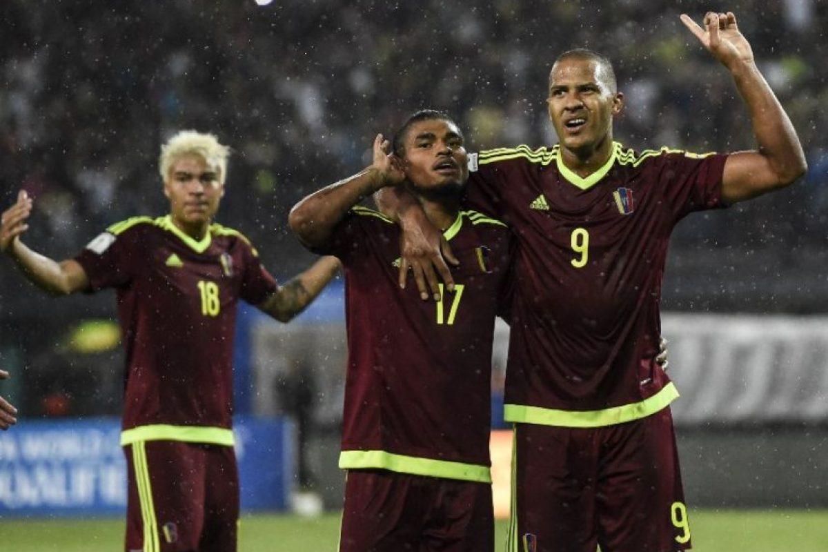 Getty Images Foto:Los llaneros sólo suman dos puntos en las Clasificatorias rumbo a Rusia 2018 y ahora jugarán ante Bolivia y Perú, dos que también están complicados.