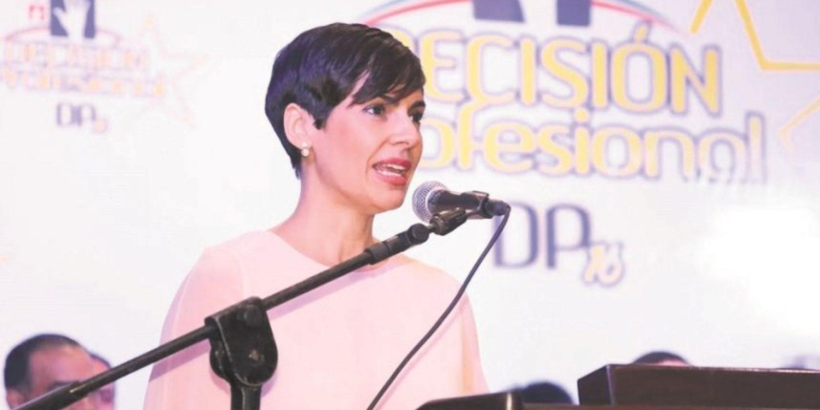 La Cámara de Diputados escogió como presidenta del Procompetencia a Yolanda Martínez.. Foto:Fuente externa