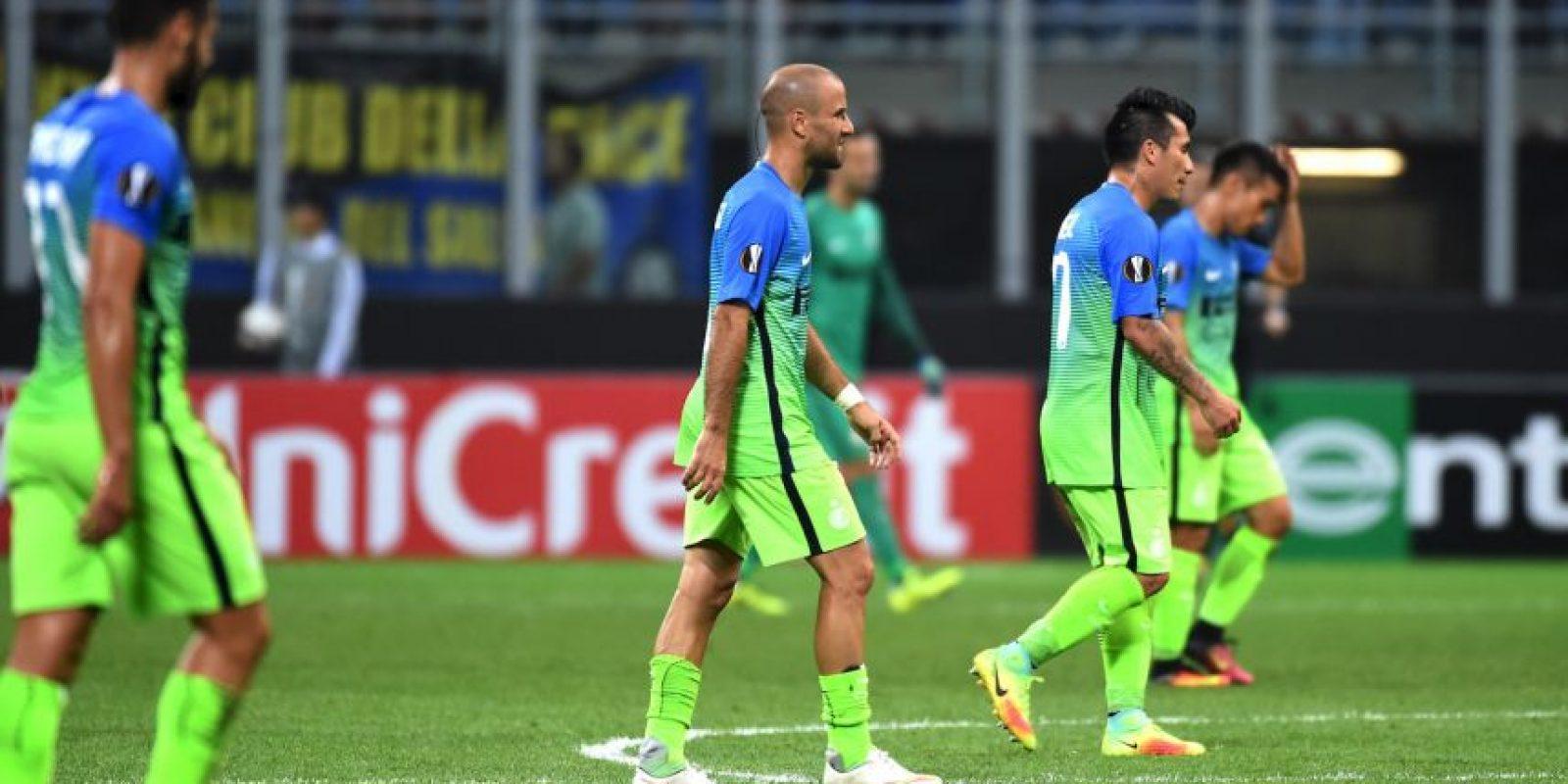 Foto:Los lombardos se llevaron críticas por su derrota y por la nueva camiseta.