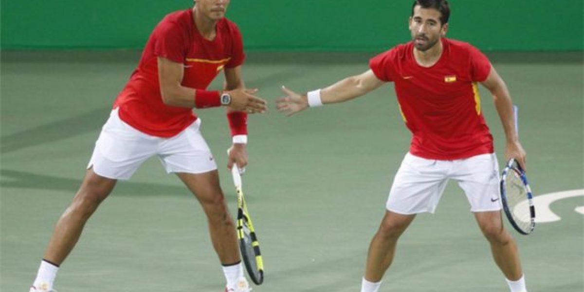 Rafael Nadal y Marc López: Compañeros en dobles
