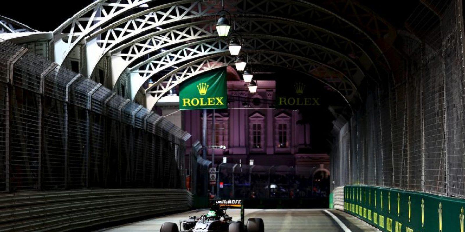 Getty Images Foto:Este fin de semana, la Fórmula 1 llega a Singapur.