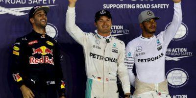 """Getty Images Foto:El piloto alemán Nico Rosberg obtuvo la """"pole"""" en el Gran Premio de Singapur."""