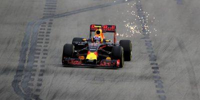 Getty Images Foto:Max Verstappen durante las prácticas del Gran Premio de Singapur. El piloto belga es una de las grandes promesas de la categoría.