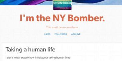 Afirma haber puesto bomba en Manhattan por opresión a los gays