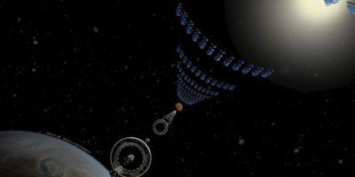 El tren espacial que los llevará a Marte en sólo dos días