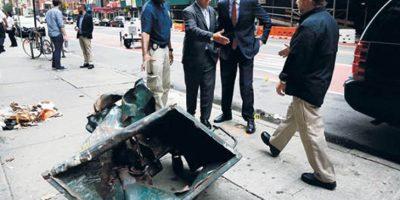 """Alcalde de Nueva York asegura que explosión """"fue intencional"""""""