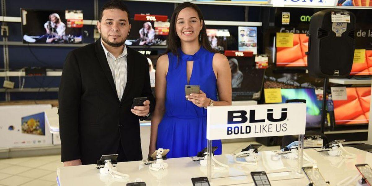 Blu Phones llega a Tiendas La Curacao
