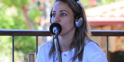 "Karina Larrauri: ""Me veo haciendo radio sin Sergio Carlo"""