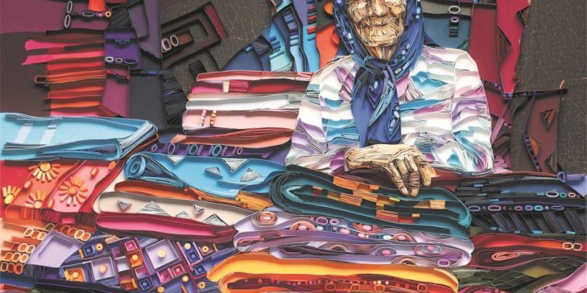 Retratos: La gente mayor son personajes coloridos