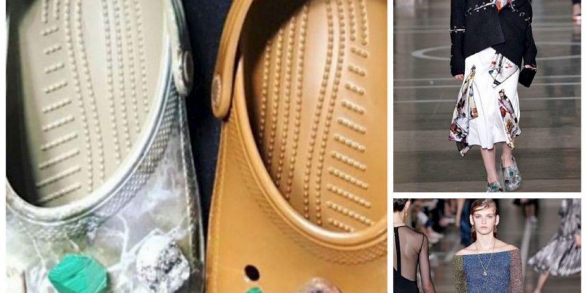 Famoso diseñador horroriza con Crocs de lujo en pasarela