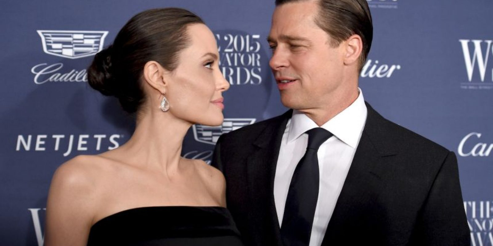 Angelina Jolie y Bard Pitt Foto: Getty Images