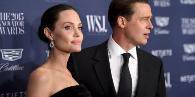 Angelina Jolie le pidió el divorcio a Brad Pitt Foto:Getty Images