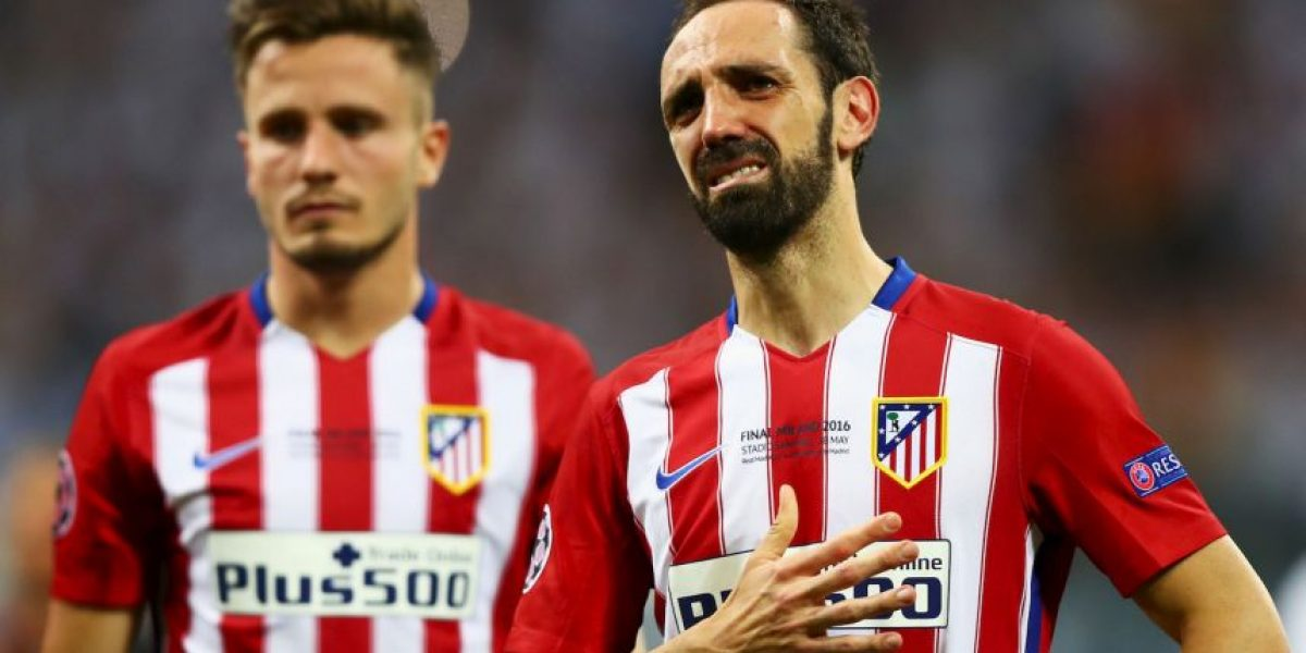 Juanfran revela el mensaje de su hijo cuando perdió el penal en la Champions