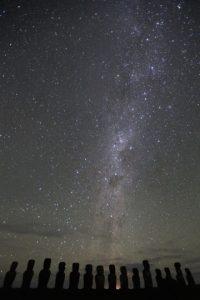 El ecuador galáctico sobre la Isla de Pascua Foto:Flickr, Creative commons