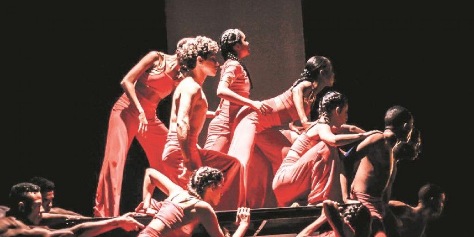 Bailarines de Edanza Juvenil, de República Dominicana. Foto:Fuente externa