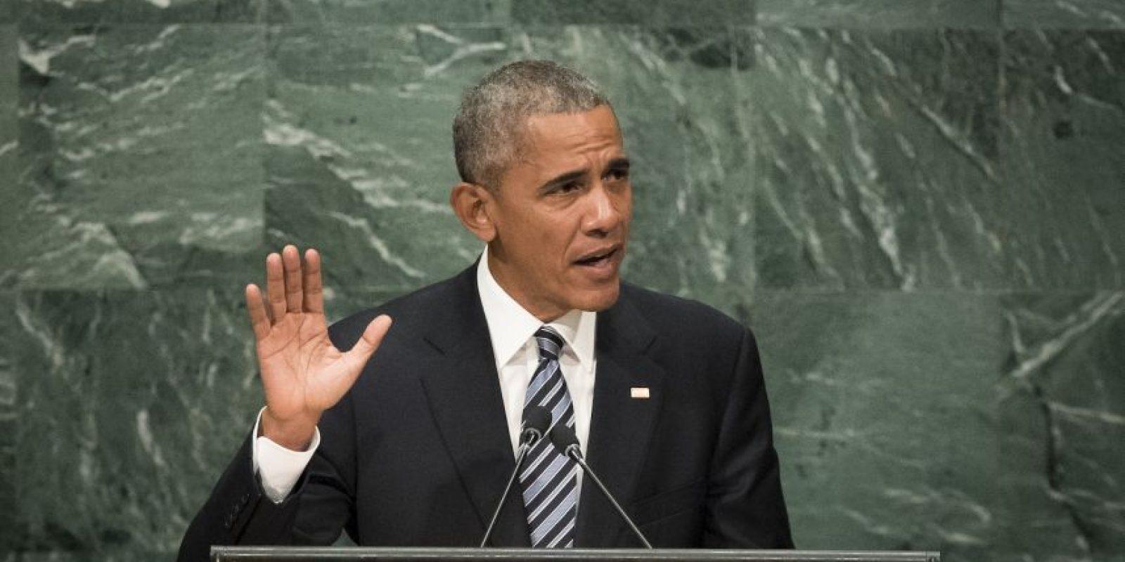 También habló sobre el acuerdo climático de París Foto:Getty Images