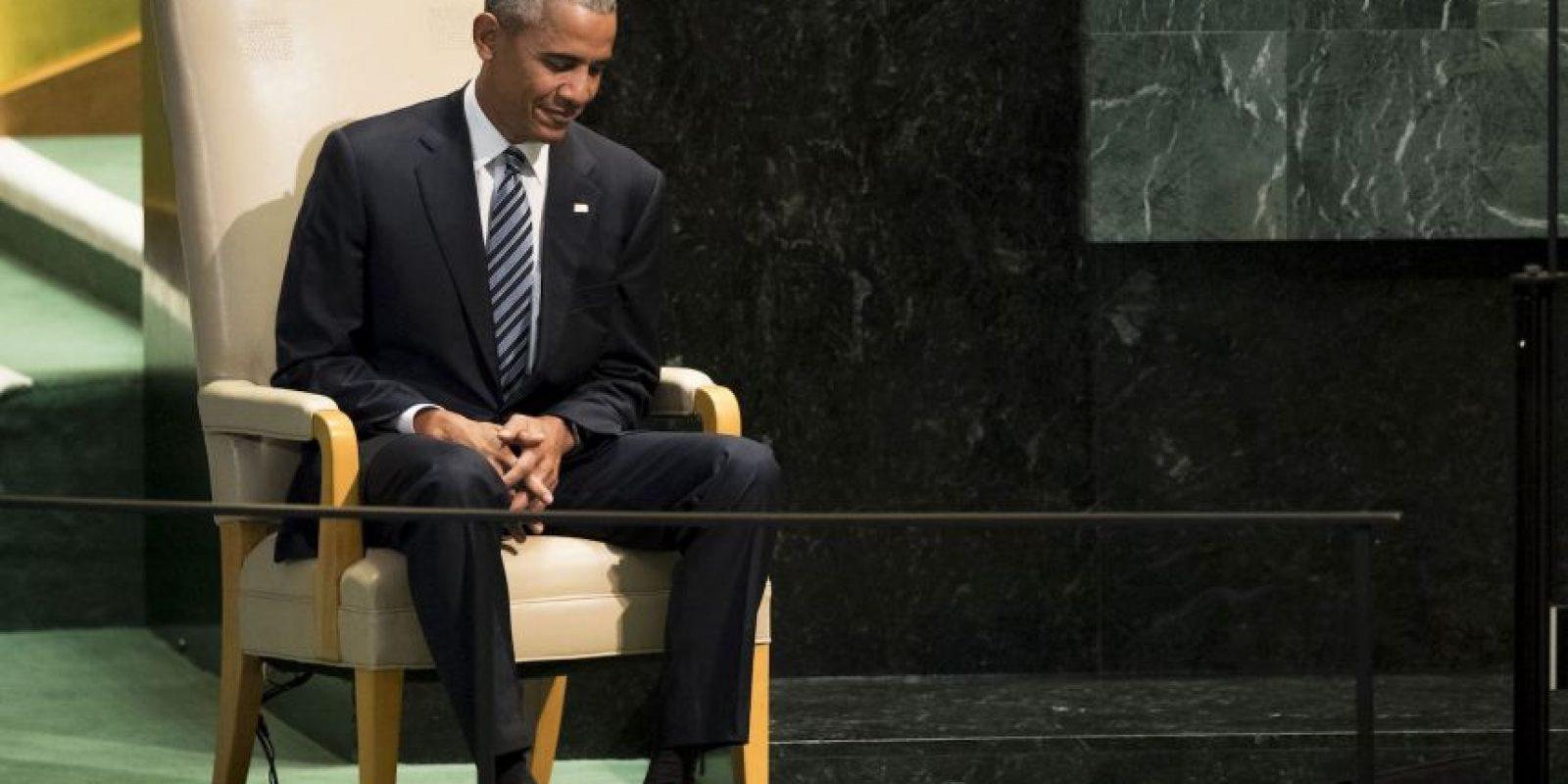 También criticó a los gobiernos de Rusia y de Corea del Norte Foto:Getty Images